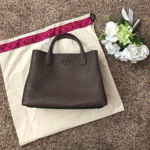 NWT - Silver Maple Tory Burch Bag